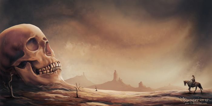 Only the Desert Remains by Pixx-73