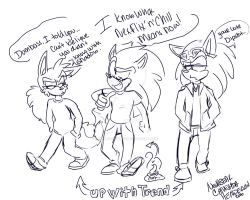 SONIC COMIC: YOUR late sonic that was over a year by NeshBearWorks