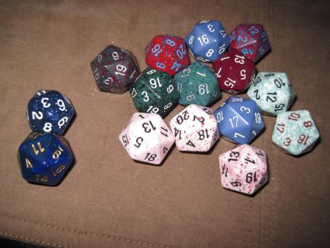 D20 Collection by OnnaNoKoNi
