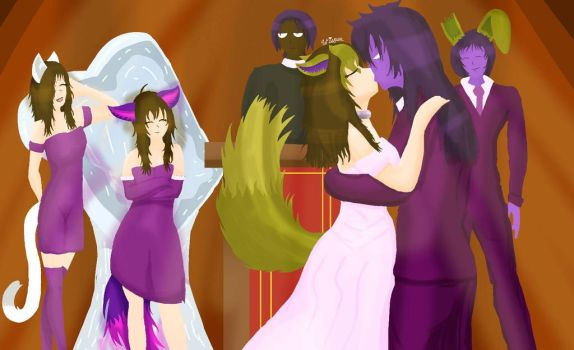 Wedding of the Damned by WisperWillowdraws