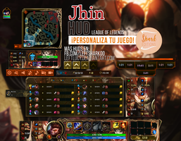 Jhin HUD League of Legends by LeftLucy