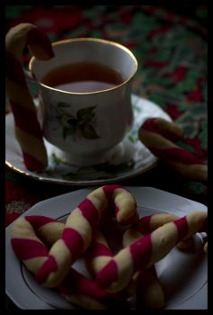 Candycane cookies by Icedrop21