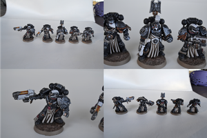 Iron Hands Sternguard Squad by gobsu