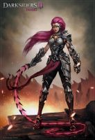 Fury - fanart for Darksiders 3 by HanawaroArts