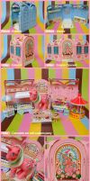 My Little Pony Candy Parlour by caramelaw