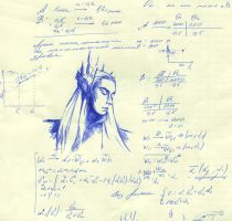 Thranduil And Math by MorgainLaFey