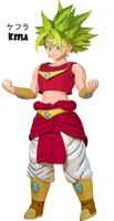 Kefla (Broly Styled) by Snoopsahoy