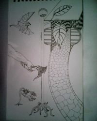 My Drawing Surreal by Abdullah-Eker