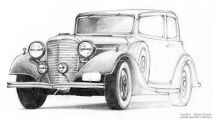 Old car by micorl