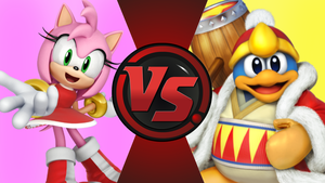 CFC|Game Amy Rose vs. King Dedede by Vex2001