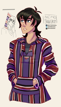 Keith in my sweater by FireWindmill