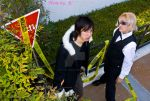 Shizuo and Izaya Durarara by MyCosPlayPhotos