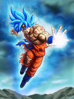 Super Saiyan Blue Son Goku by zachjacobs