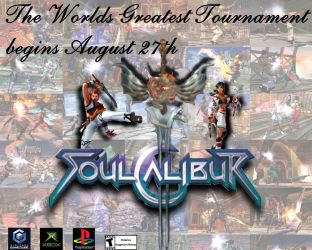 Ad- Soul Calibur Tournament by lordwarhammer