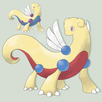 Fakemon Isuragon by mssingno