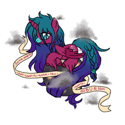 Some Mares Just Want To Watch The World Burn by Points-for-Fritty