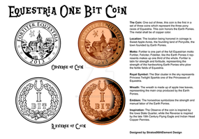 Equestria One Bit Coin by SouthParkTaoist