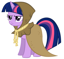 Twilight Sparkle as Clover the Clever by IamthegreatLyra