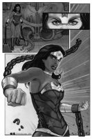 Wonder Woman...busting out by strib