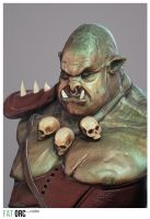 Fat Orc by lucirgo