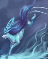 Suicune by R8A-creations