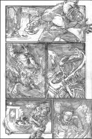 The Curse pencils pg 6 by tedwoodsart