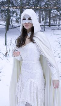 snow and lace lack feet by eyefeather-stock