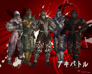NG2 Spider Ninja Clan by SSPD077 by SSPD077