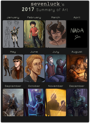 2017 Summary of Art by sevenluck
