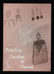 Practice (candles) by SinfulLusinda