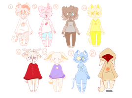aesthetic adopts (1/8 OPEN) by pyqmy