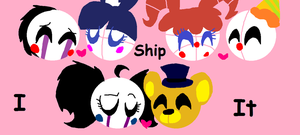 My favorite Ships from fnaf! by EmilkaChudaSM