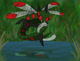 Favourite Bug-type Pokemon: Yanmega