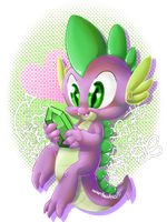 SPIKE IS KAWAII by ActeusDeer
