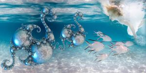 Playing with the Seahorses by marijeberting