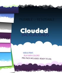 Clouded Backgrounds... by AncaDeaconu