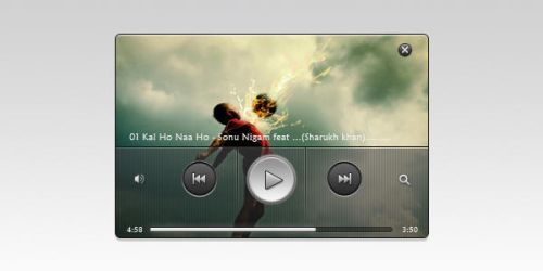 Fazal~inspired music player by fazalzarif