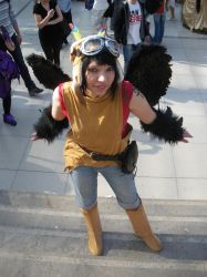 Cooro - Plus Anima Cosplay by ChaosTheDawn