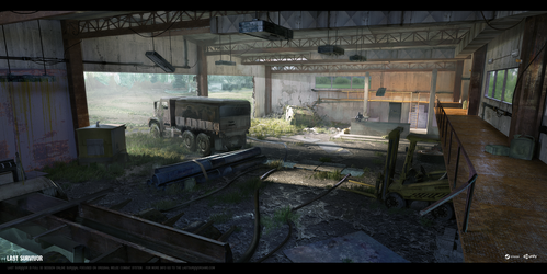 Last Survivor - Garage (interior 01) by UnccleUlty