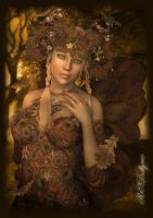 Autumn Fairy Aina by AelarethElennar