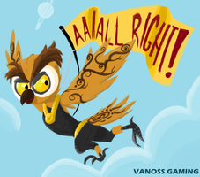 Lil' Vanoss the Magic Owl by Scarlet-Ajani