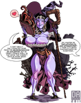 Dragons Crown Syx by DarkHarry by Scratchtastic
