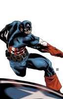 Captain America by mike-mcgee