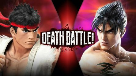 Ryu vs Jin | DEATH BATTLE! by Bigdaddy9716