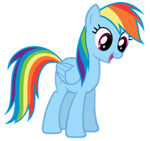 Rainbow Dash ALSO Finds The Floor by MrLolcats17