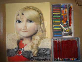 Astrid (How to train your dragon 2) by diladi