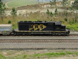 Side of SD40 3 5303 by Alexandre-ue