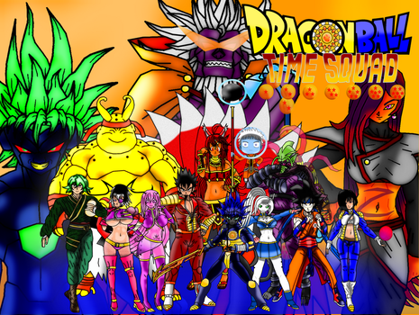 Dragon Ball Time Squad Wallpaper by Devil-Wolf-Cyclone