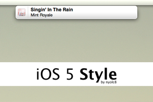 iOS 5 Style 0.4.1 by nyolc8