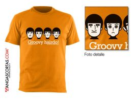 Camiseta: Groovy hairdo by gomitas